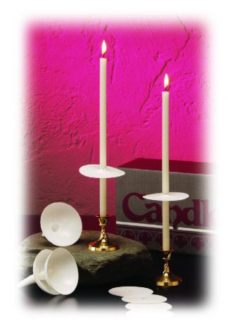 "11"" Stearic Easter Vigil Candle Set - 100"