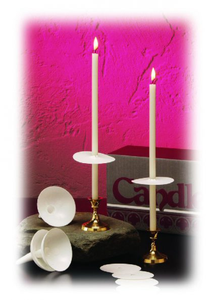 "7"" Stearic Easter Vigil Candle Set - 100"