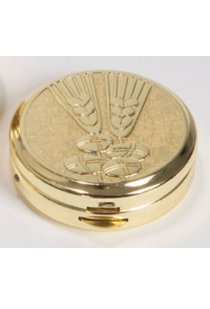 "PYX 1-1/2"" x 1/2"" Gold Plated"