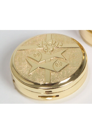 "PYX 1-3/4"" x 1/2"" Gold Plated"