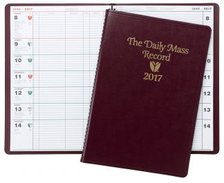 2017 Daily Mass Record Book
