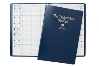 2018 Daily Mass Record Book