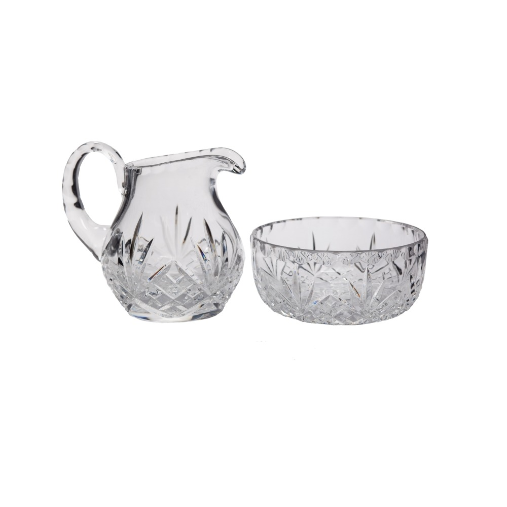 crystal lavabo set