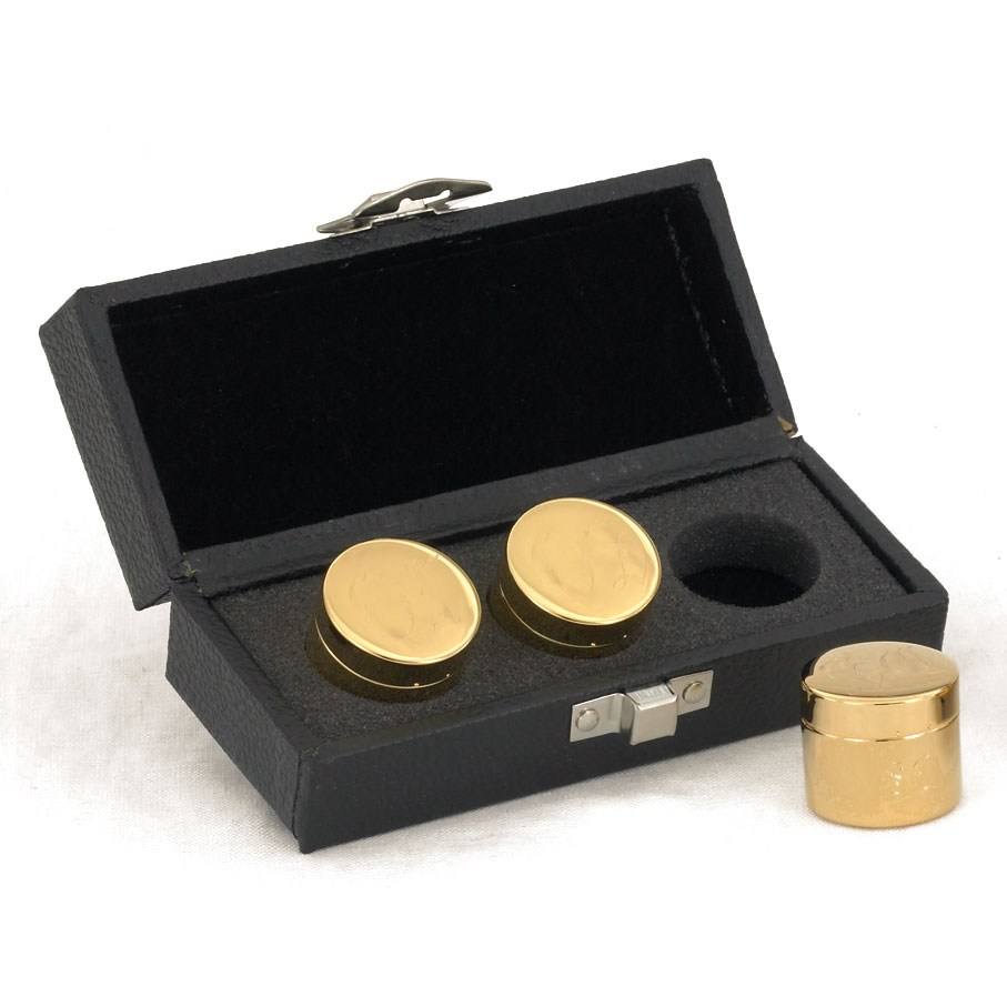 travel case with holy oils