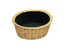round collection basket
