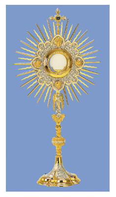 tall monstrance