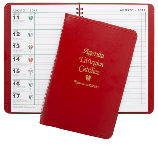 2019 liturgical desk calendar spanish
