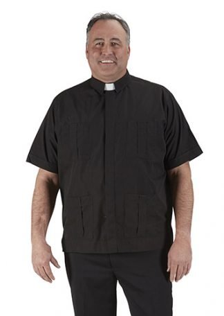 #249 R.J. Toomey Panama Short Sleeve Clergy Shirt