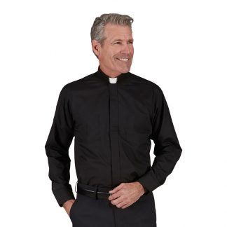 #334 R.J. Toomey™ Egyptian Cotton Long Sleeve Clergy Shirt