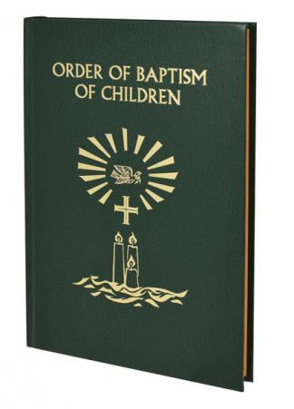 The Order of Baptism of Children - hardcover