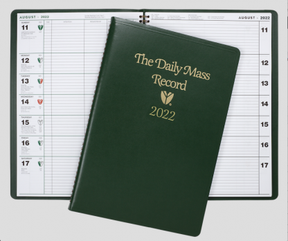 2022 Daily Mass Record